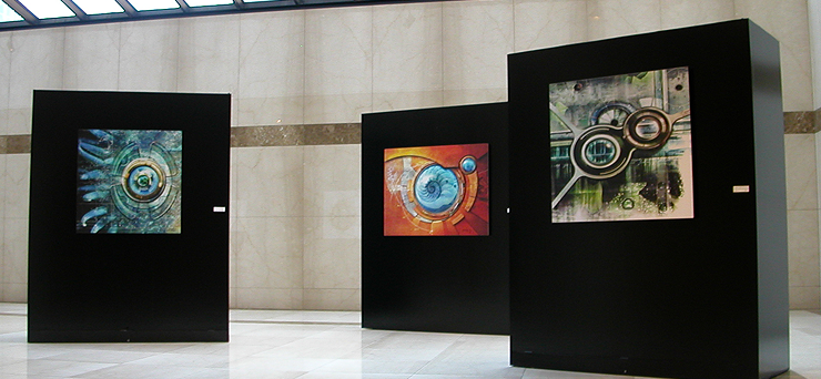 One Allen Center Gallery Showing